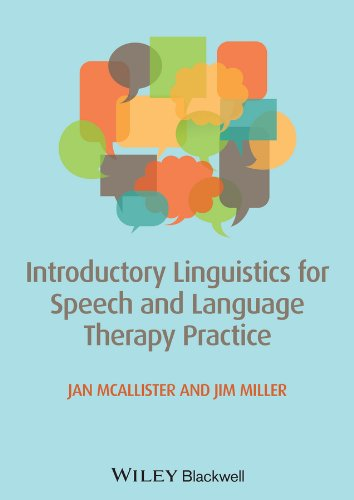 Introductory Linguistics for Speech and Language Therapy Practice   2013 edition cover