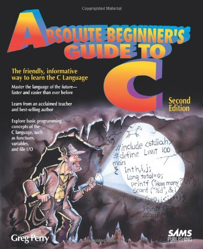 Absolute Beginner's Guide to C  2nd 1994 (Revised) edition cover