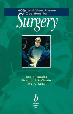 MCQs and Short Answer Questions for Surgery   1999 9780867930108 Front Cover