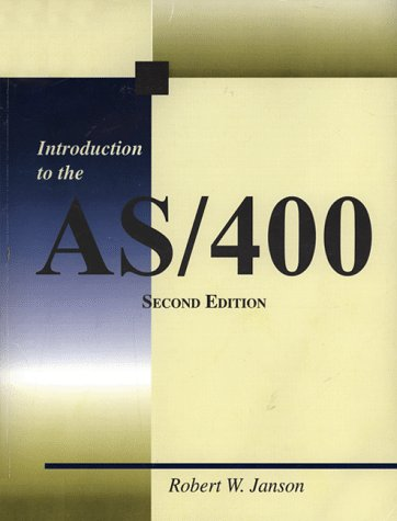 Introduction to the AS/400  2nd 1998 (Revised) 9780966422108 Front Cover