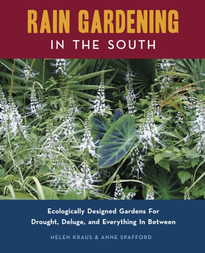 Rain Gardening in the South   2009 9780982077108 Front Cover