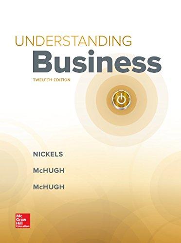 Understanding Business:   2018 9781260211108 Front Cover