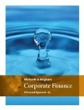 Corporate Finance: A Focused Approach  2016 9781305637108 Front Cover