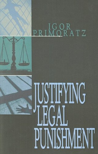 Justifying Legal Punishment  2nd edition cover