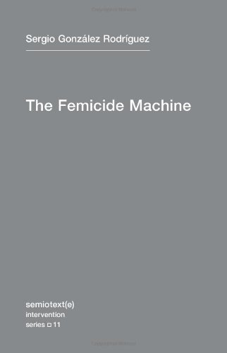 Femicide Machine   2012 edition cover