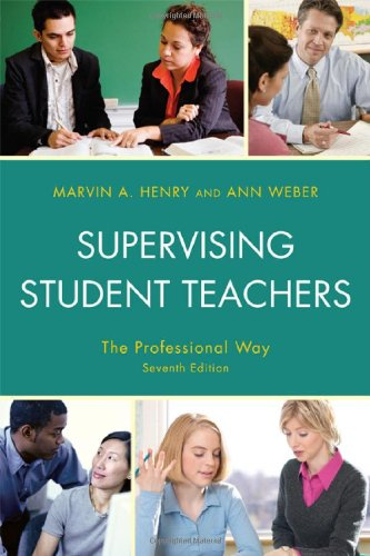 Supervising Student Teachers  7th 2010 edition cover