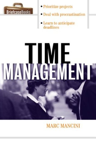 Time Management   2003 9780071406109 Front Cover