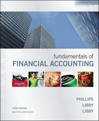 Fundamentals of Financial Accounting + Annual Report:  3rd 2010 9780073527109 Front Cover
