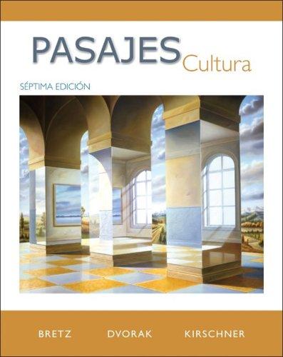 Pasajes Cultura 7th 2010 edition cover