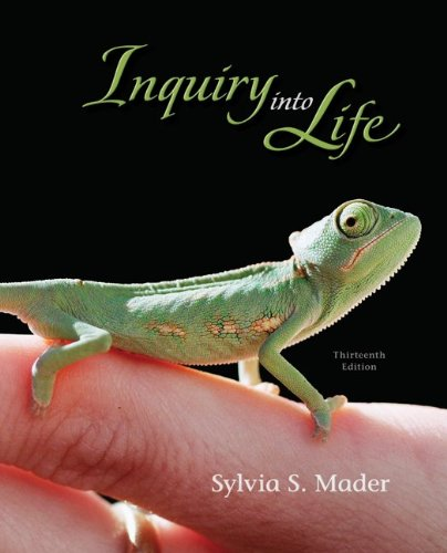Inquiry into Life  13th 2011 edition cover