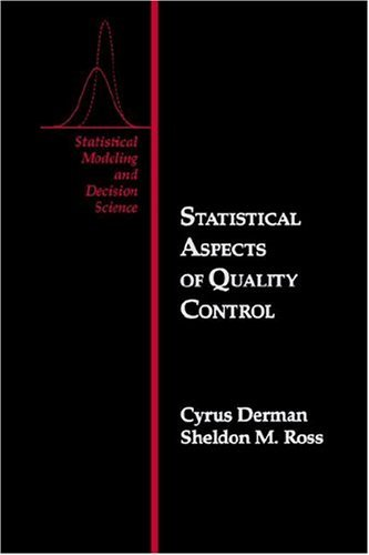 Statistical Aspects of Quality Control   1997 9780122100109 Front Cover