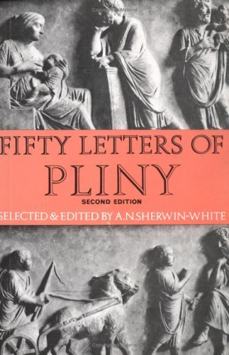 Fifty Letters of Pliny  2nd 1969 (Revised) edition cover