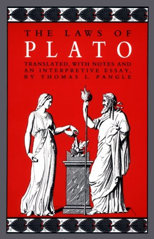 Laws of Plato  N/A edition cover