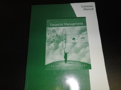 FINANCIAL MANAGEMENT-SOLUTIONS N/A edition cover