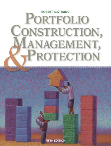 Portfolio Construction, Management, and Protection (with Stock-Trak Coupon)  5th 2009 edition cover