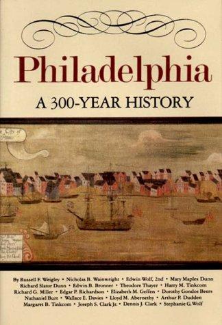 Philadelphia A Three Hundred Year History  1982 edition cover