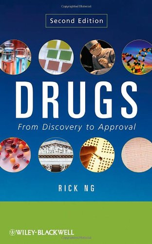 Drugs From Discovery to Approval 2nd 2009 edition cover