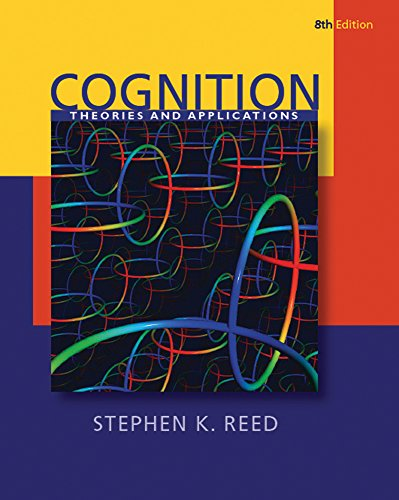 Cognition: Theory and Applications + CogLab on a CD, Version 2. 0  8th 9780495789109 Front Cover
