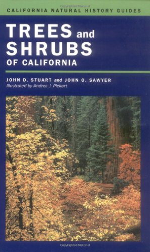 Trees and Shrubs of California   2001 edition cover