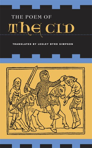 Poem of the Cid   2006 edition cover