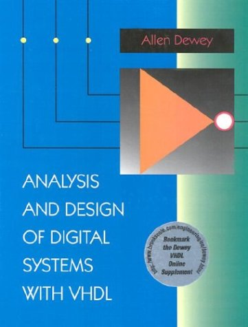 Analysis and Design of Digital Systems with VHDL  1st 1997 9780534954109 Front Cover