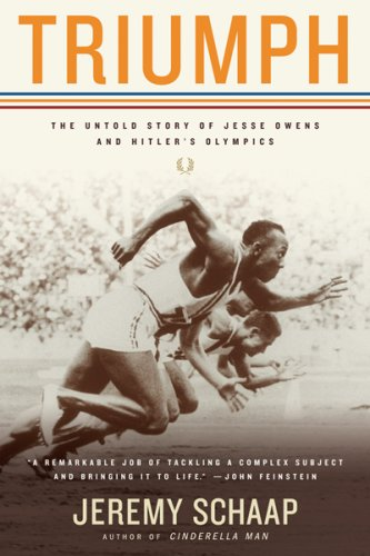 Triumph The Untold Story of Jesse Owens and Hitler's Olympics  2007 edition cover