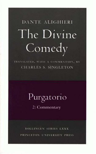 Divine Comedy - Purgatorio Commentary  1991 edition cover