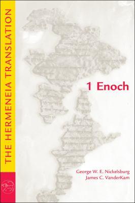 1 Enoch The Hermeneia Translation  2012 edition cover