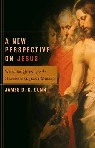 New Perspective on Jesus What the Quest for the Historical Jesus Missed  2005 edition cover