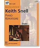 PIANO REPERTOIRE:ETUDES PREPAR N/A edition cover