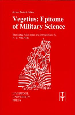 Vegetius Epitome of Military Science 2nd 1996 (Revised) edition cover