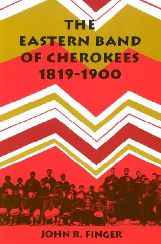 Eastern Band of Cherokees, 1819-1900  N/A edition cover