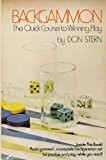 Backgammon : The Quick Course to Winning Play  1973 9780877495109 Front Cover