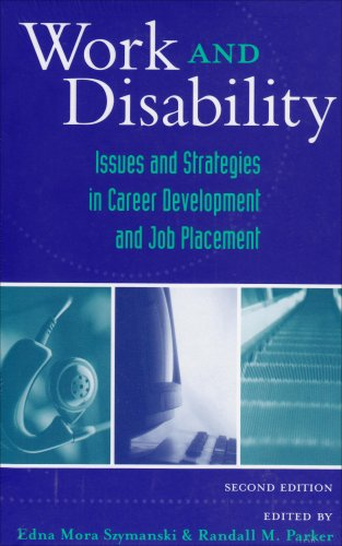 Work and Disability Issues and Strategies in Career Development and Job Placement 2nd 2003 edition cover