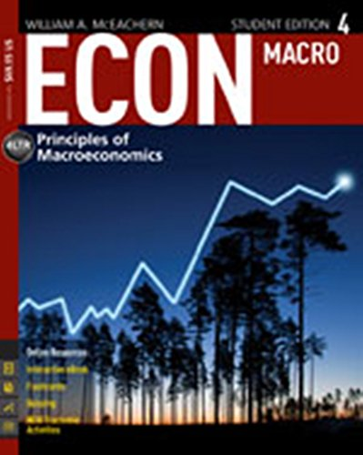 ECON:MACRO 4-TEXT >INSTRS.ED<           N/A 9781285189109 Front Cover