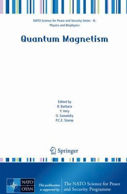 Quantum Magnetism   2008 9781402085109 Front Cover