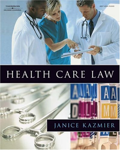 Health Care Law   2009 edition cover