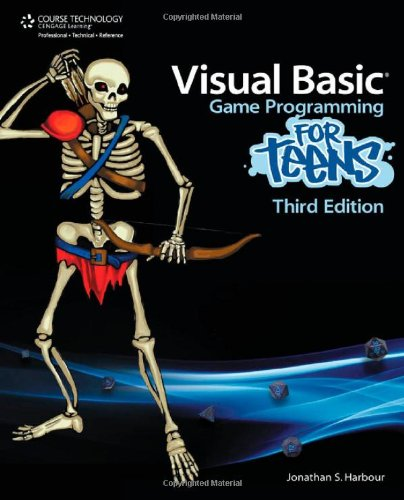 Visual Basic Game Programming for Teens  3rd 2011 edition cover