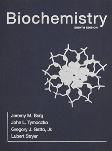 Biochemistry:   2015 edition cover