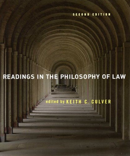 Readings in the Philosophy of Law: 2nd 2007 edition cover