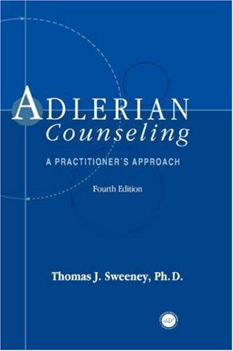 Adlerian Counseling A Practitioner's Approach 4th 1998 (Revised) edition cover