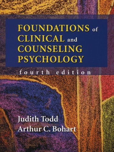 Foundations of Clinical and Counseling Psychology  4th 2006 edition cover