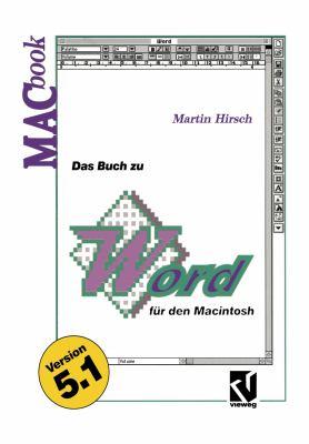 Das Buch Zu Word Für Den Macintosh:   1993 9783528053109 Front Cover