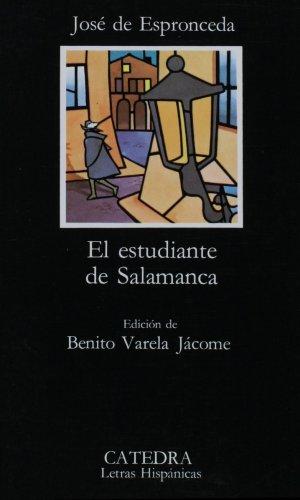 El Estudiante De Salamanca 1st 1988 edition cover