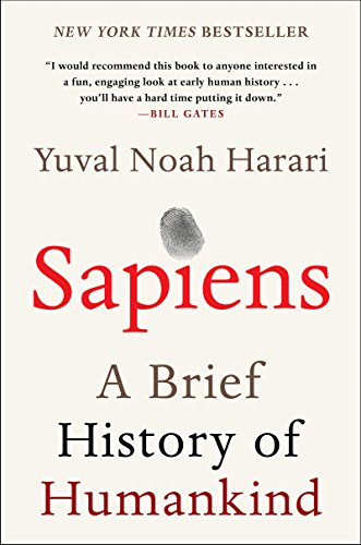 Cover art for Sapiens: A Brief History of Humankind