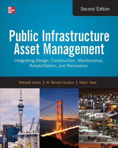 Public Infrastructure Asset Management  2nd 2013 edition cover