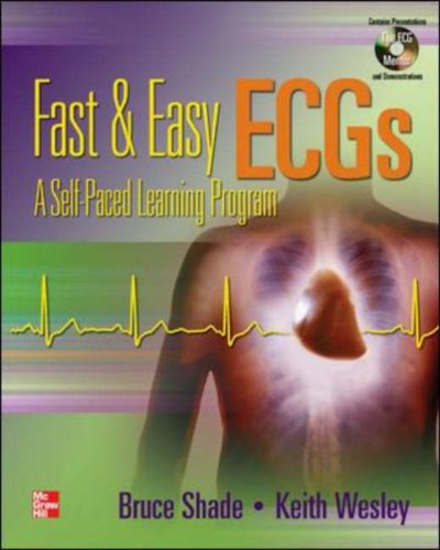 Fast and Easy Ecgs A Self Paced Learning Course  2007 edition cover