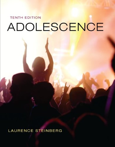 Adolescence  10th 2014 9780073532110 Front Cover