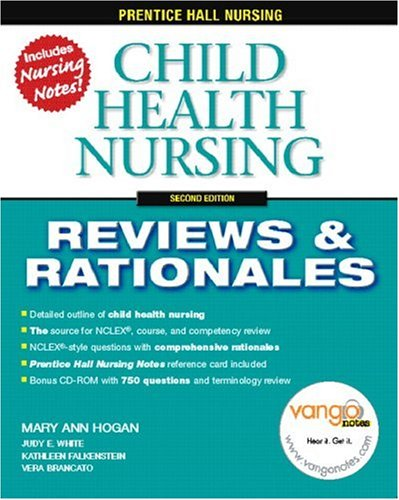 Child Health Nursing Reviews and Rationales 2nd 2007 (Revised) edition cover