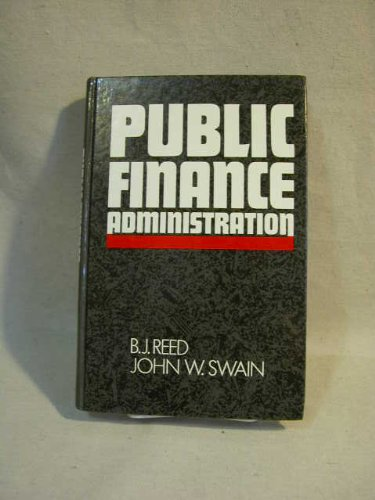 Public Finance Administration N/A 9780137375110 Front Cover